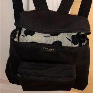 Kate Spade New York ♠️ Black Mini Backpack